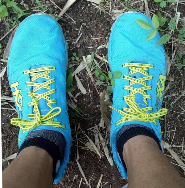 Hoka One One Evo Jawz Above