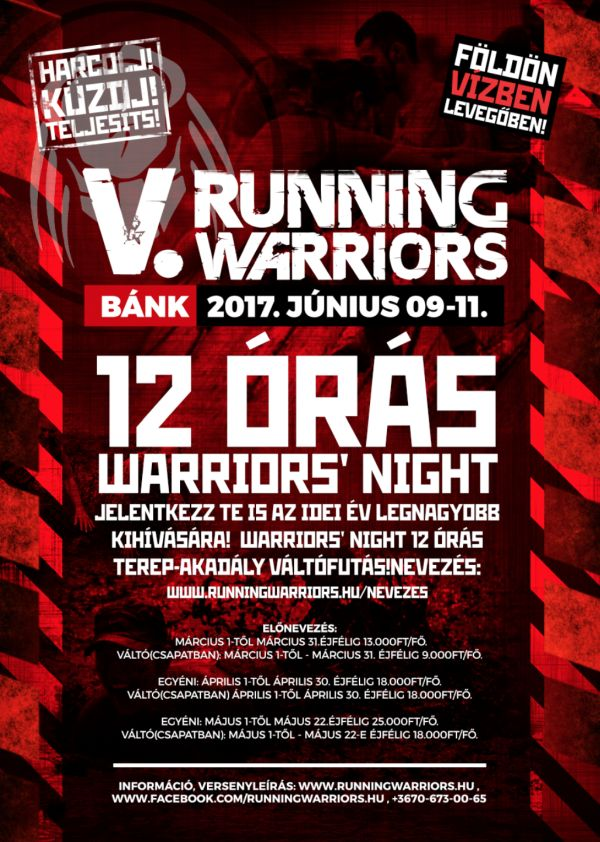 12 oras Running Warriors 2017