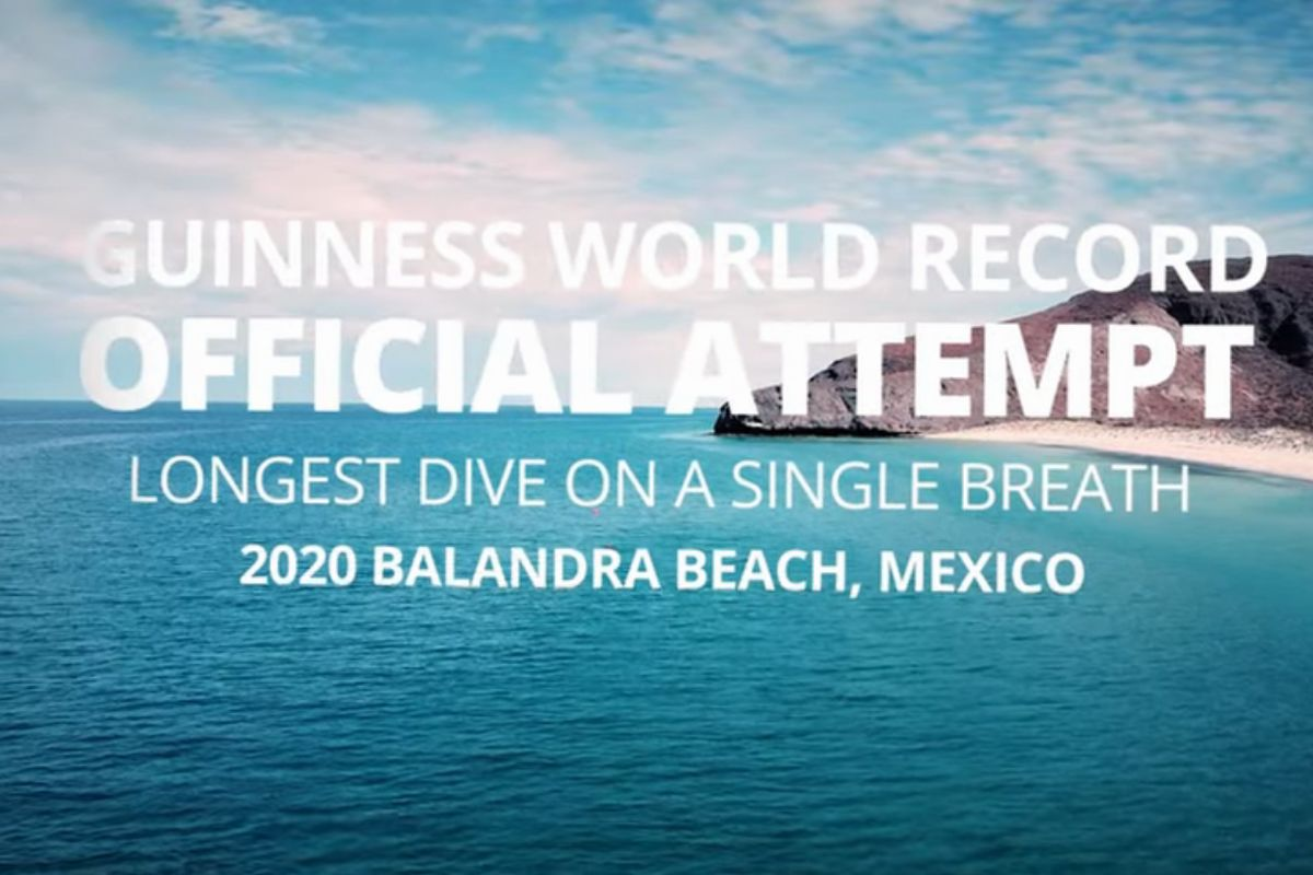 stig severinsen sets new world underwater swimming record 2