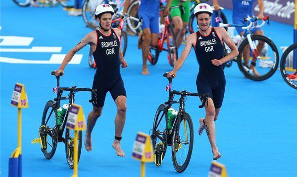 London Olimpia, triatlon, Brownlee, Gomez