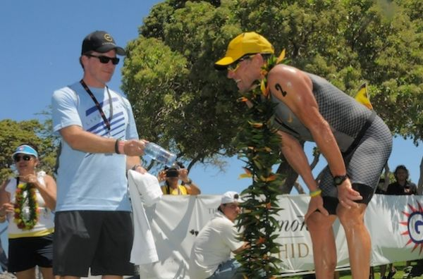 Lance Armstrong Ironman 70.3 Hawaii