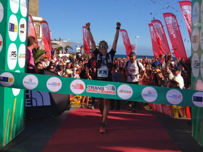 Nuria Picas a célban - The North Face Transgrancanaria