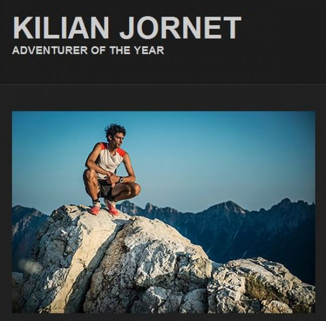 Kilian Jornet - Adventurer of the Year
