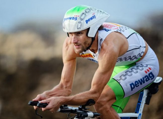 Faris Al-Sultan a hawaii Ironman versenyen